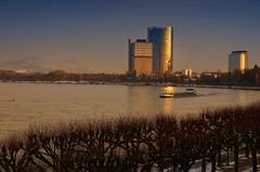 Bonn zur goldenen Abendstunde