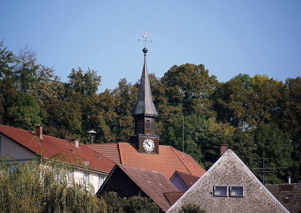 Bonndorfer Glocken-Türmchen auf dem Rathaus