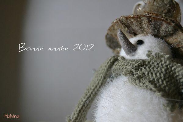 Bonne année 2012 à tous