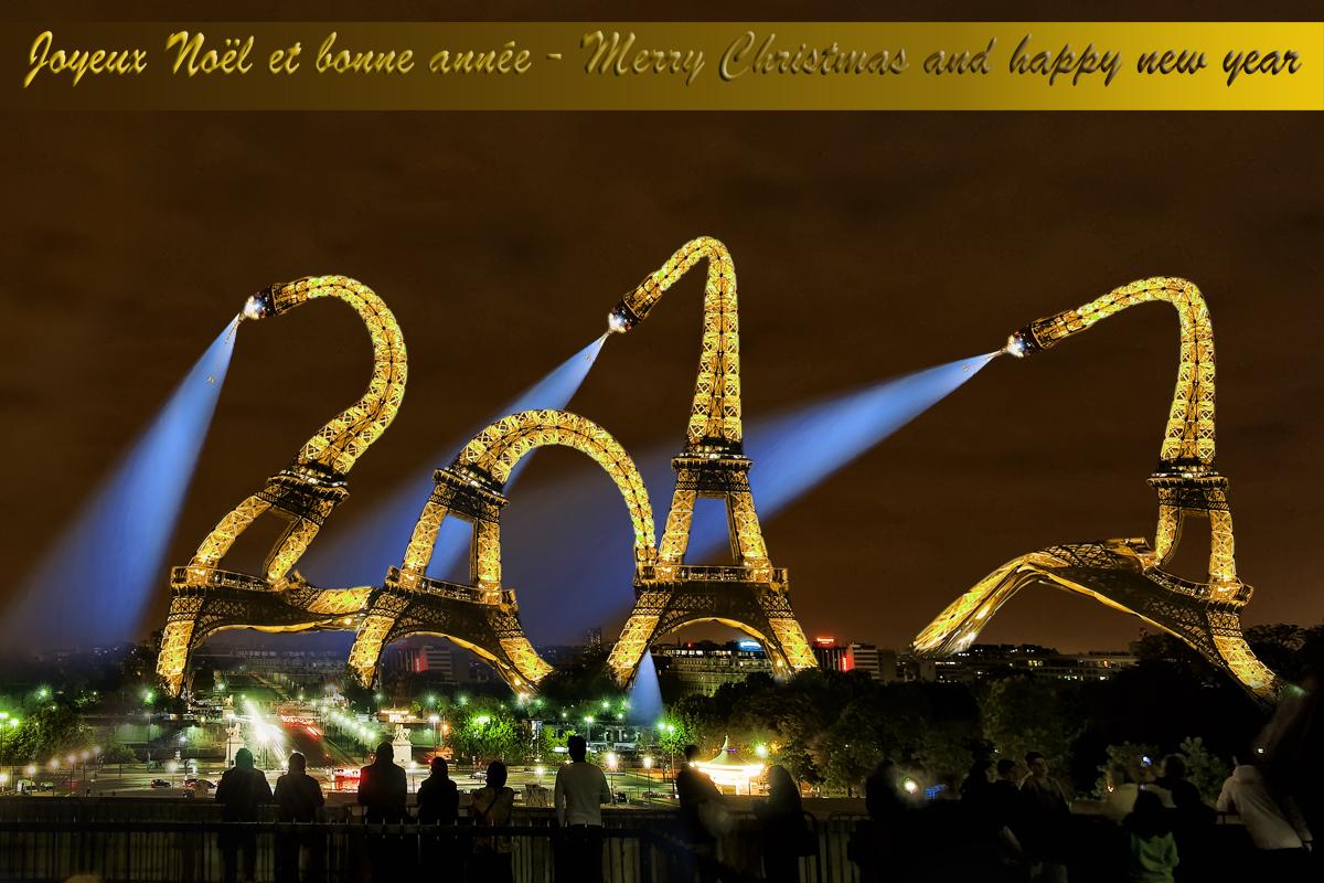 Bonne année parisienne !