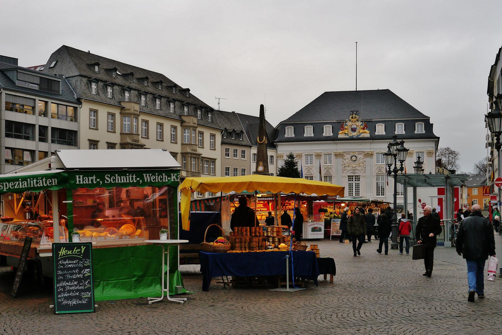 Bonner Marktplatz ...