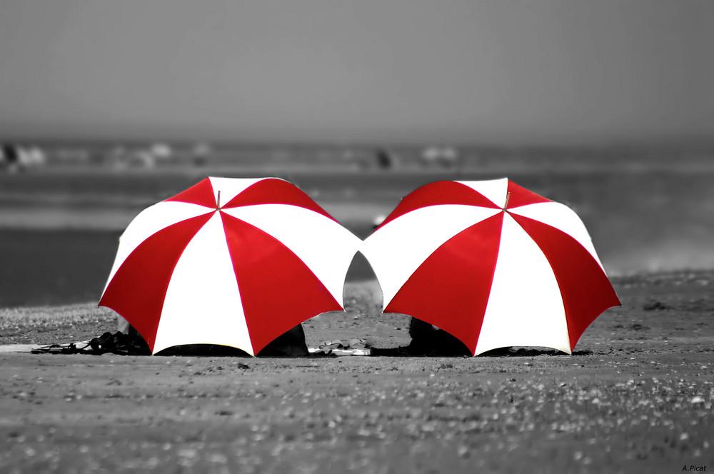 Bonnet C à la plage