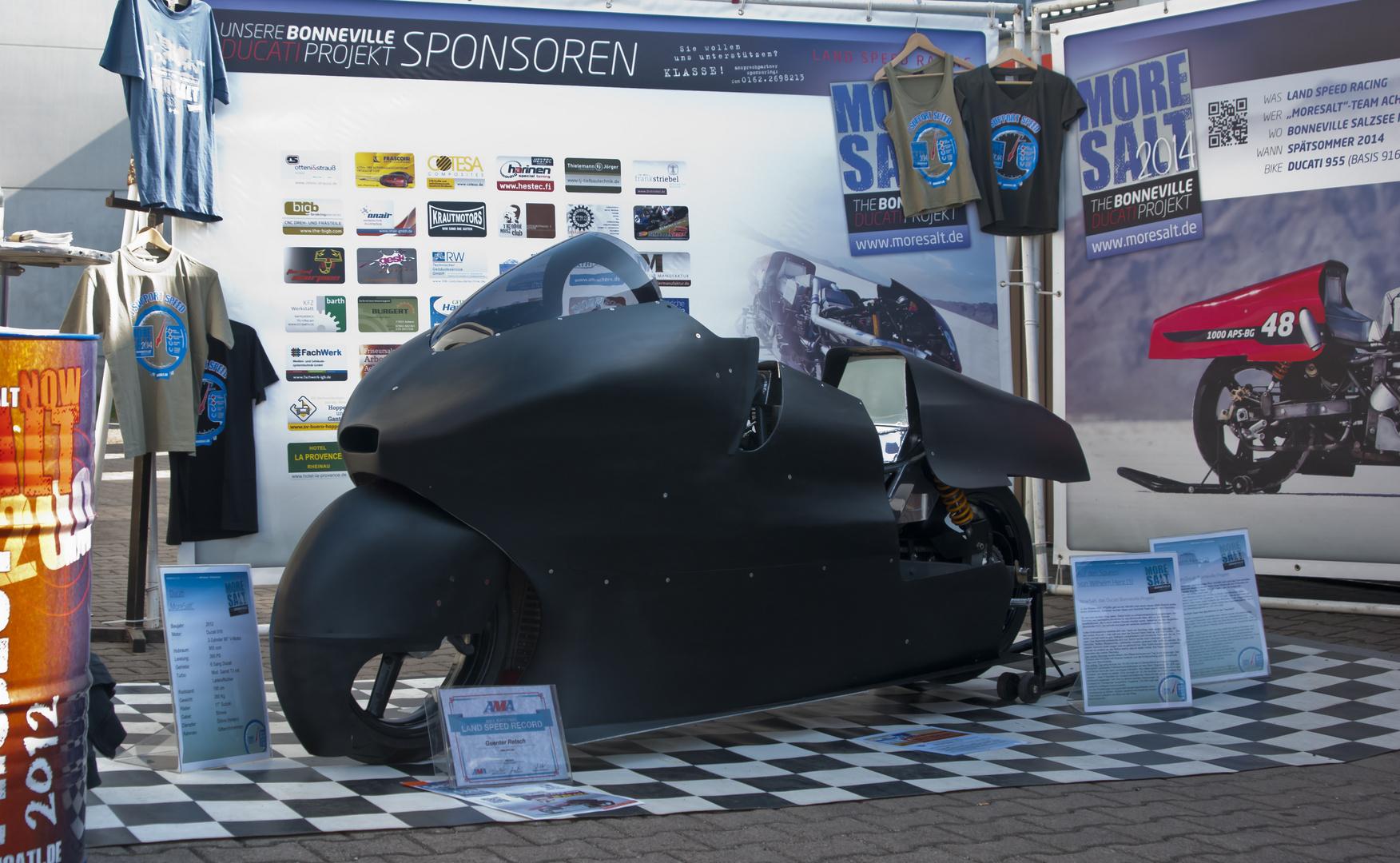 Bonneville Ducati Projekt 2014