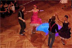 Boogie Woogie-Show Tanzschule Steng in Fürth