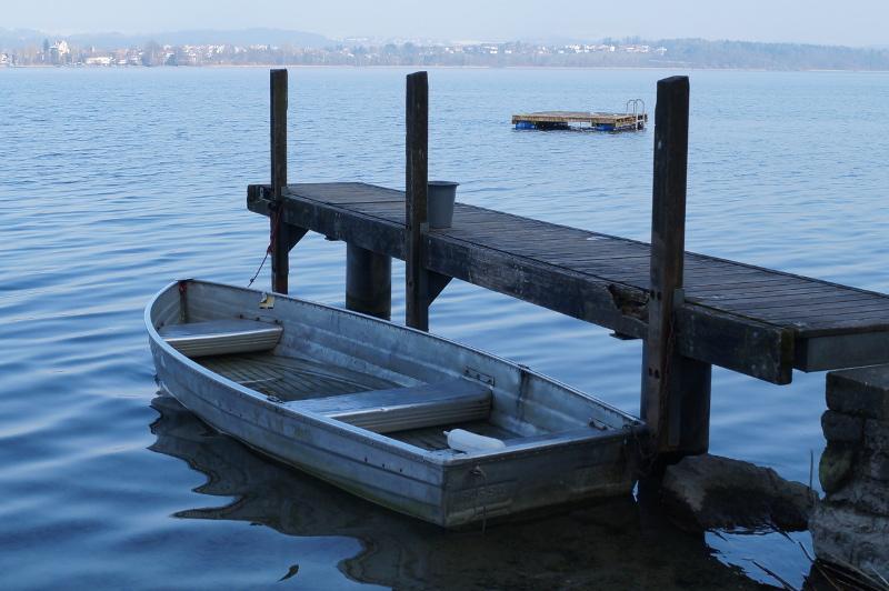 Boot am Greifensee