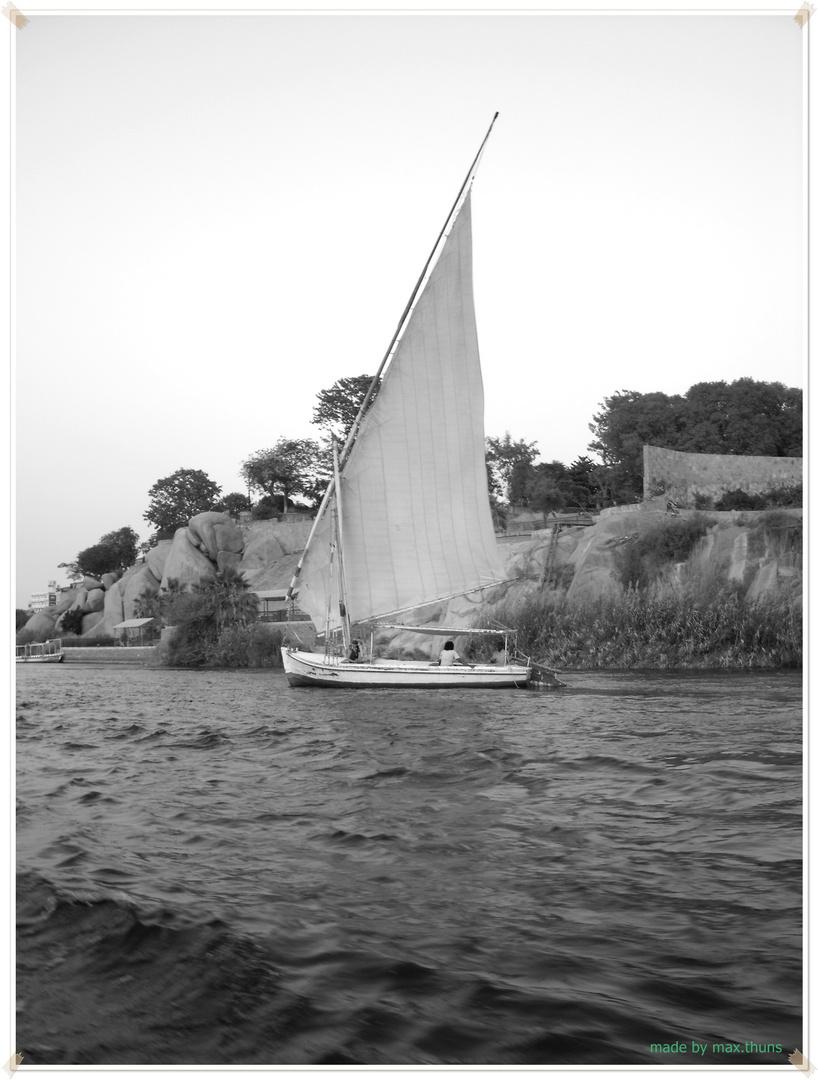 Boot auf dem Nil
