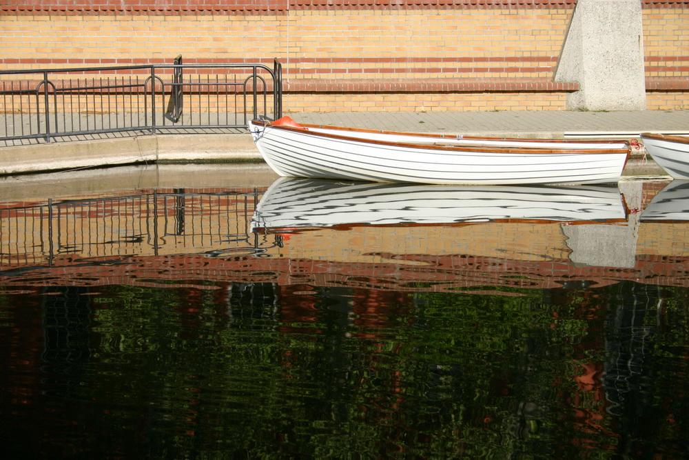 Boot auf der Nahe
