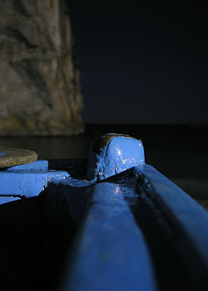 Boot im Mondschein