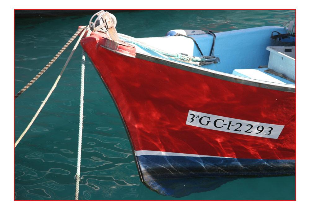 Boot in Puerto Mogan auf Gran Canaria