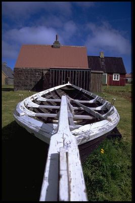 Boot, Island, Juni 1991