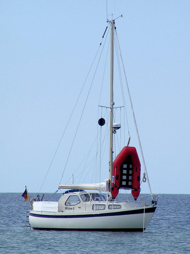 Boot nahe Großenbrode