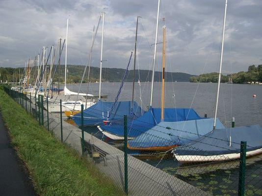 Boote am Baldeneysee