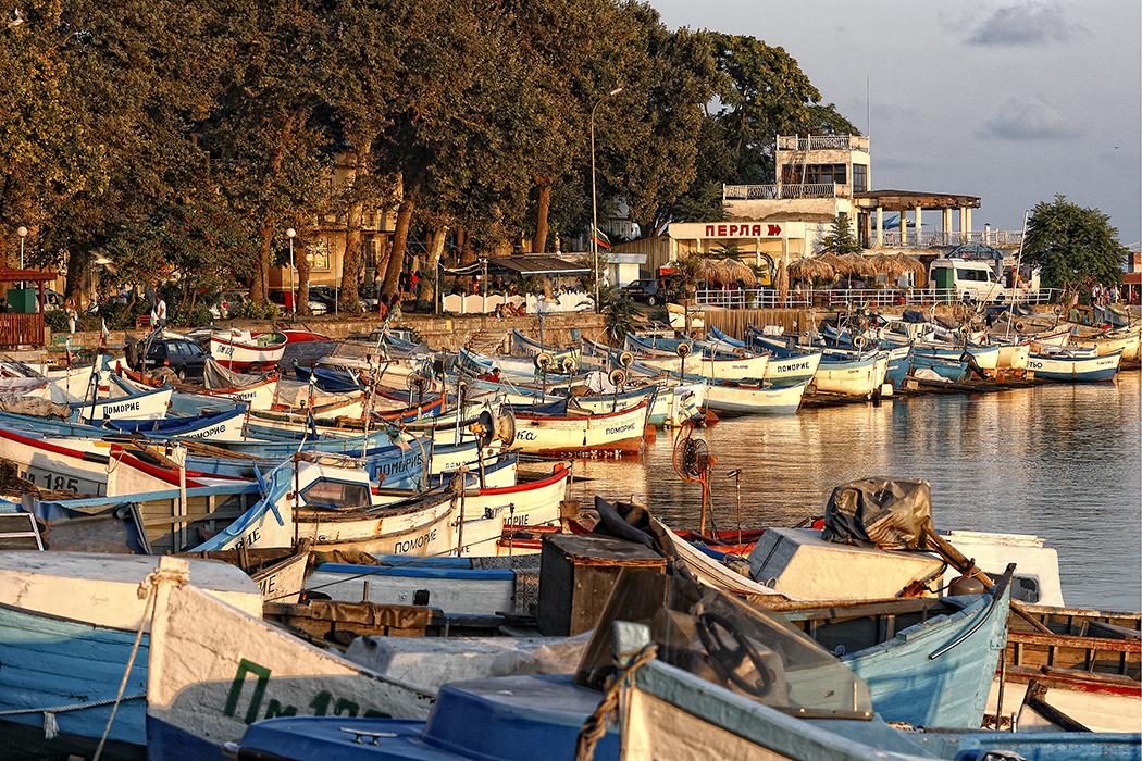 Boote am Fischerhafen