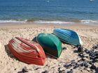 Boote am Strand von List