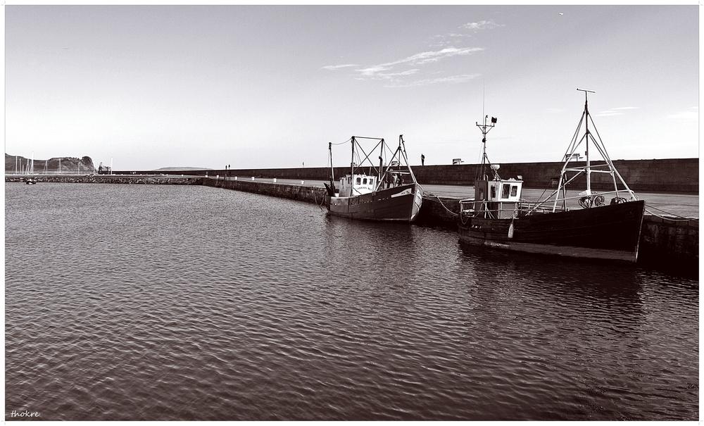 Boote an der Küste - Dublin II