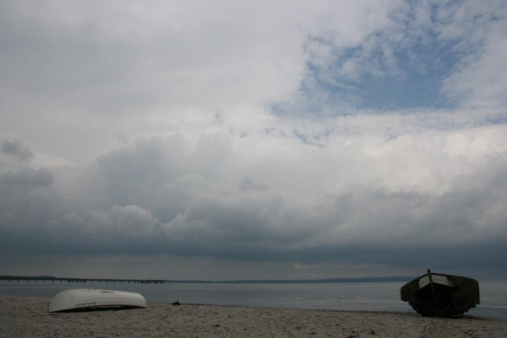 Boote an der Ostsee