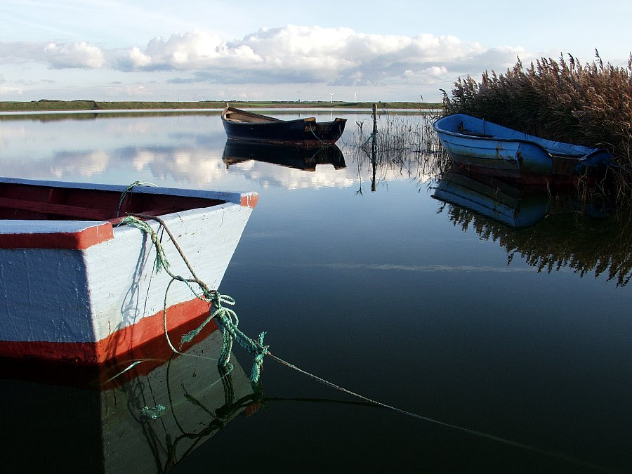 Boote auf dem Ferringsee