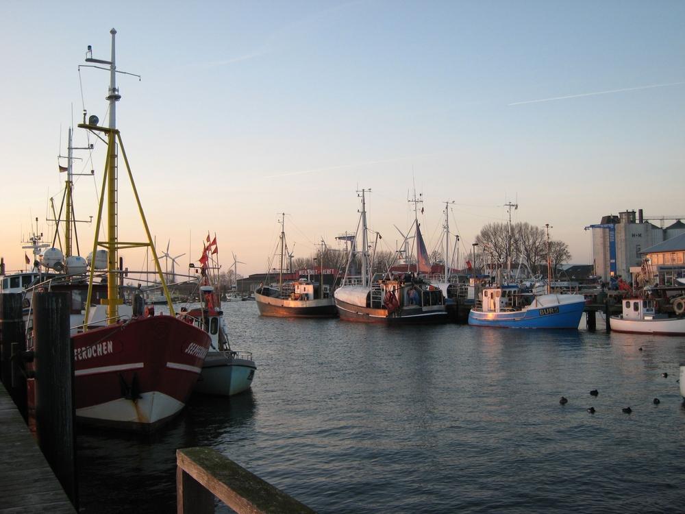Boote auf Fehmarn