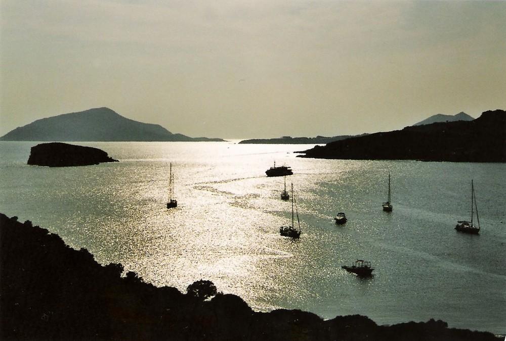 Boote Cap Sunion