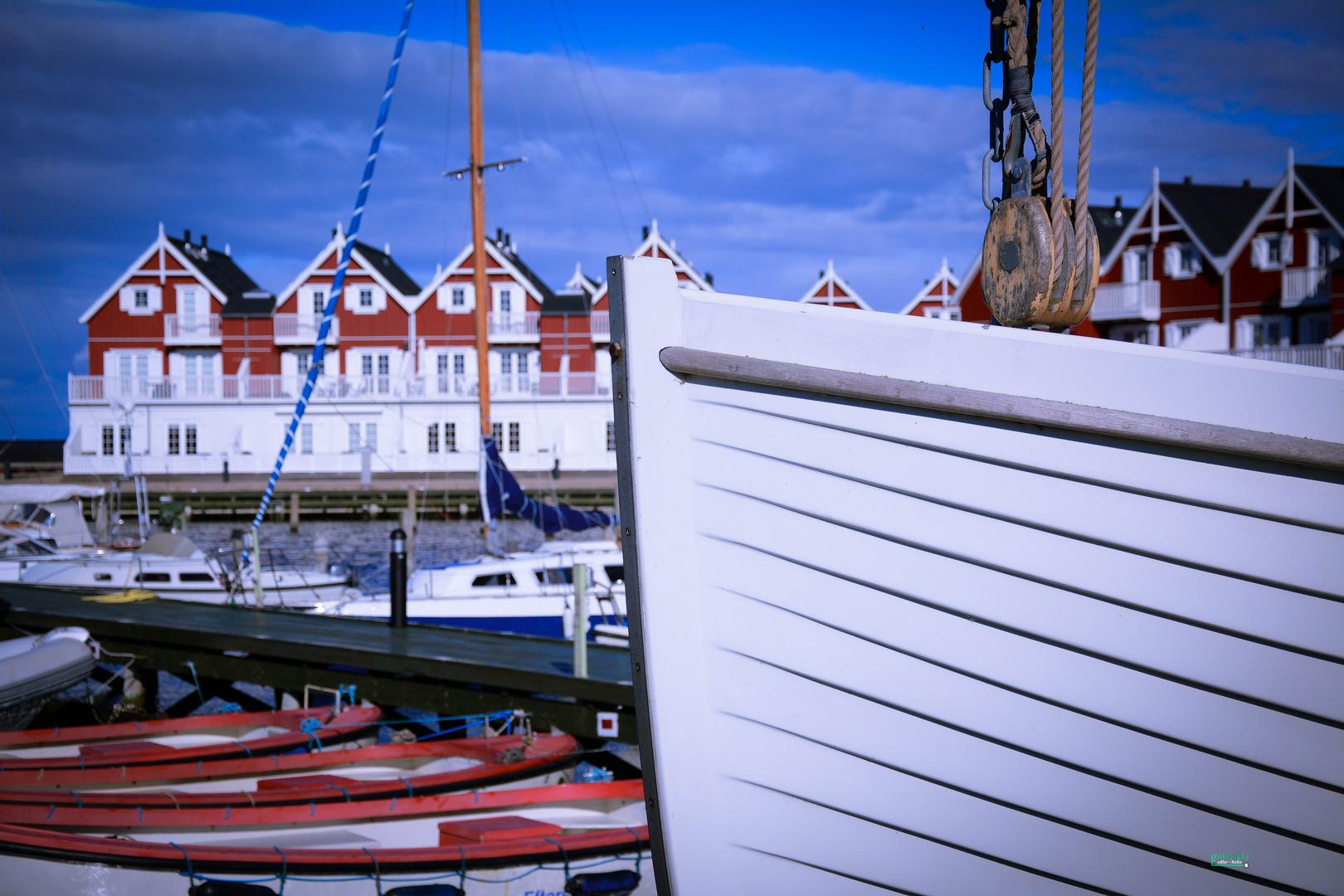 Boote im Hafen von Bagenkop