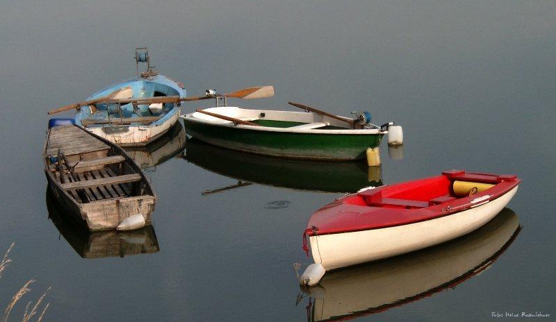 Boote im Kreisverkehr