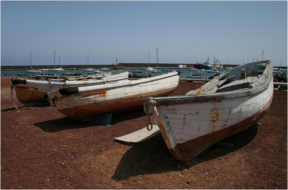 Boote in Arrecife - Lanzarote