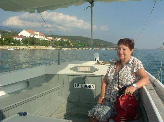 Bootfahrt für Peter