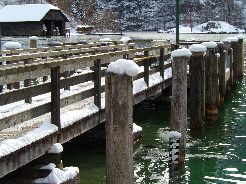 Bootsanlegesteg am Königssee