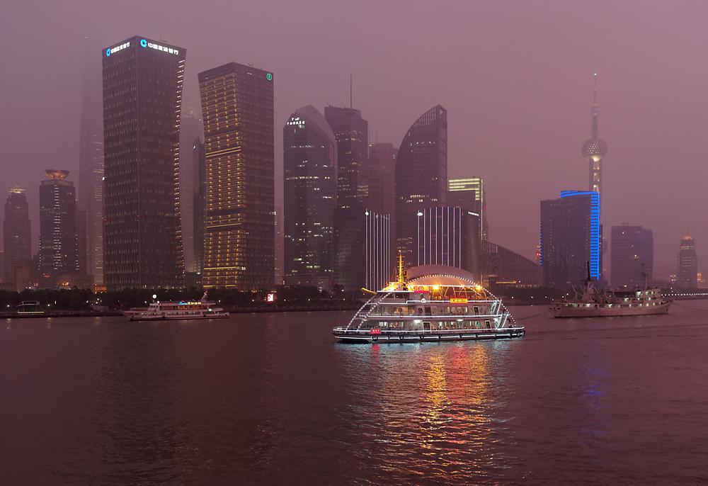 Bootsfahrt am Huangpu