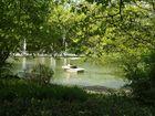 Bootsfahrt im Park