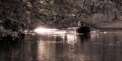 Bootsfahrt in der Herbstsonne