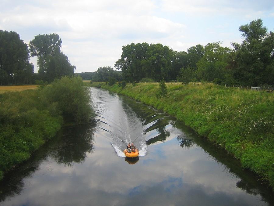 Bootsfahrt zu zweit