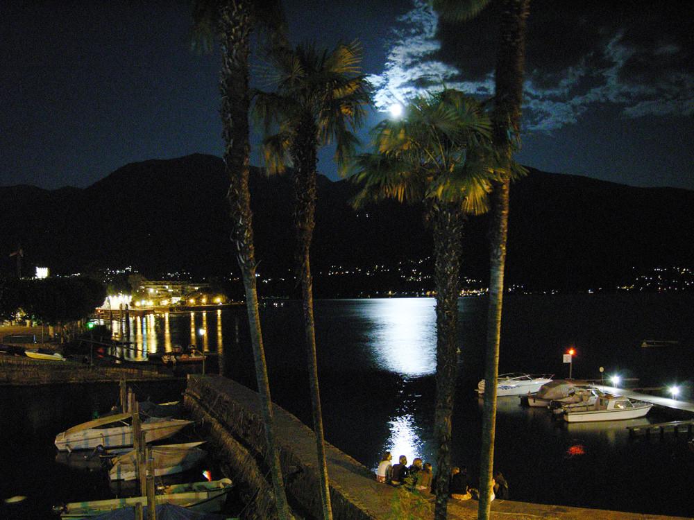 Bootshafen in Ascona