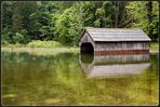 Bootshaus am Toplitzsee