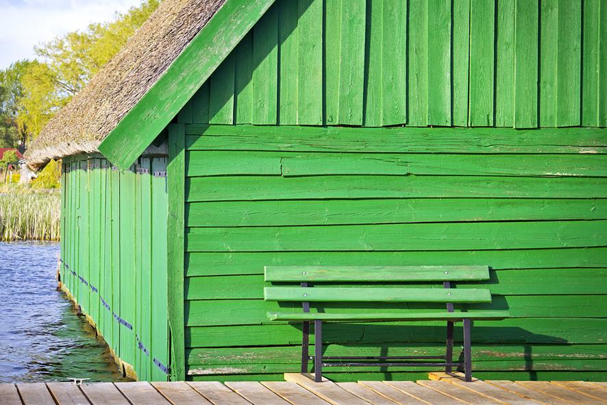 Bootshaus in Mecklenburg