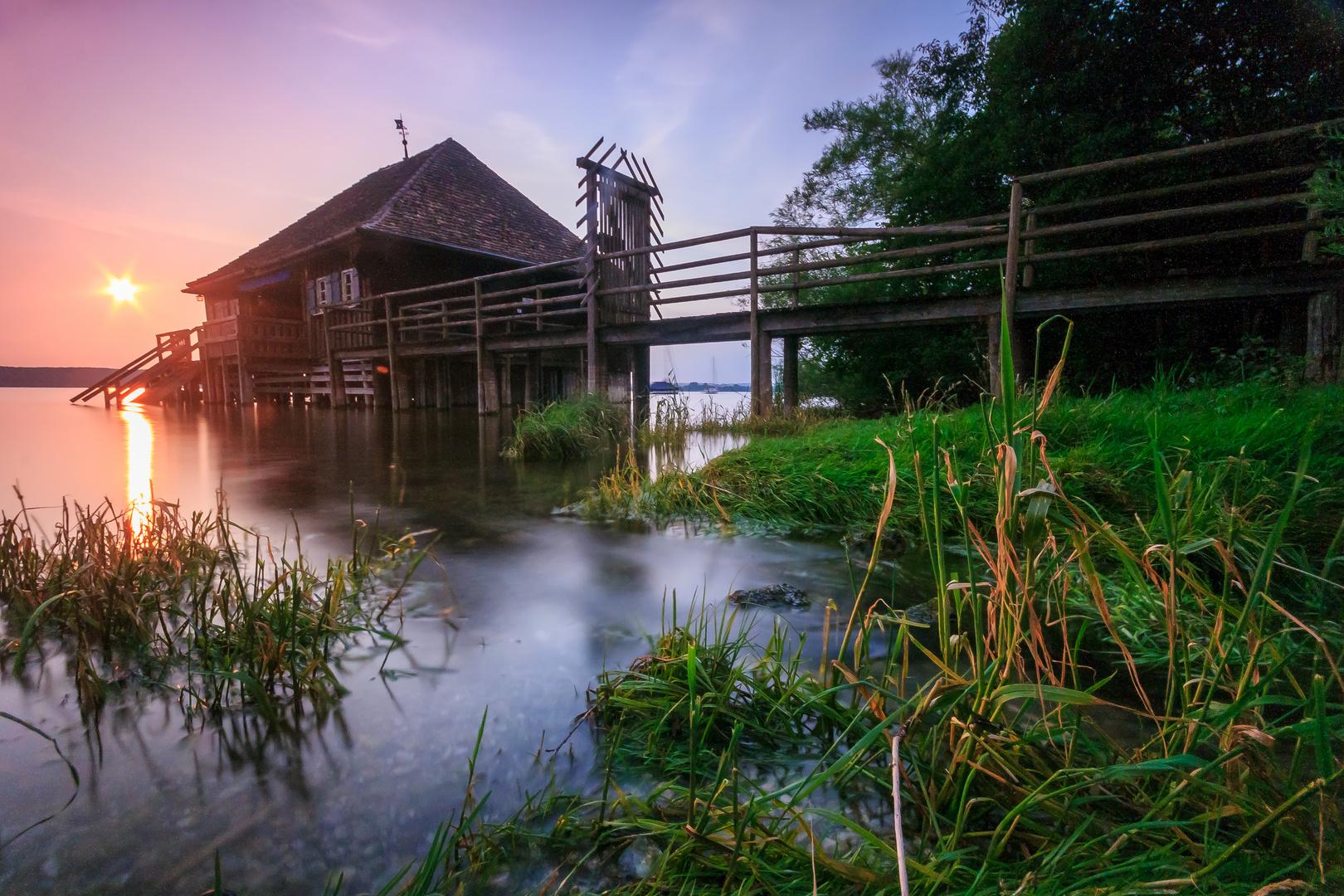 Bootshütte am Ammersee 2