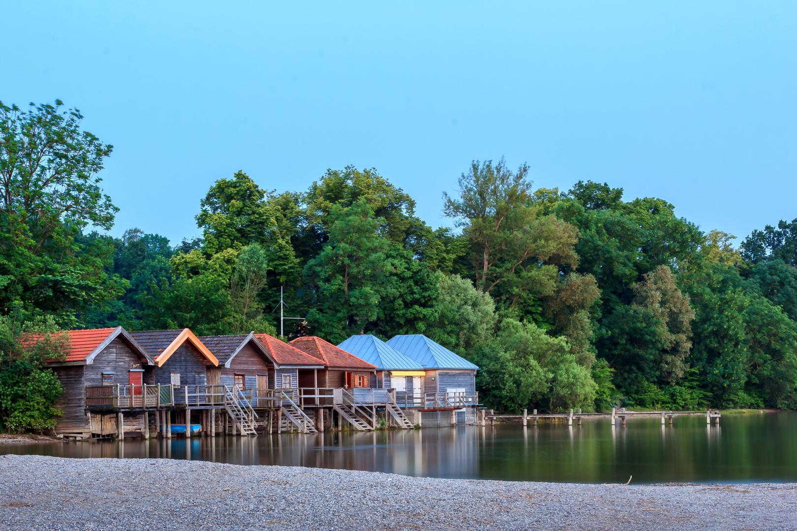 Bootshütten am Ammersee 2