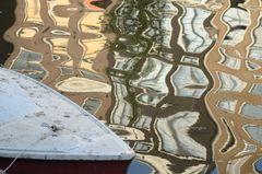Bootspiegelung Amsterdam
