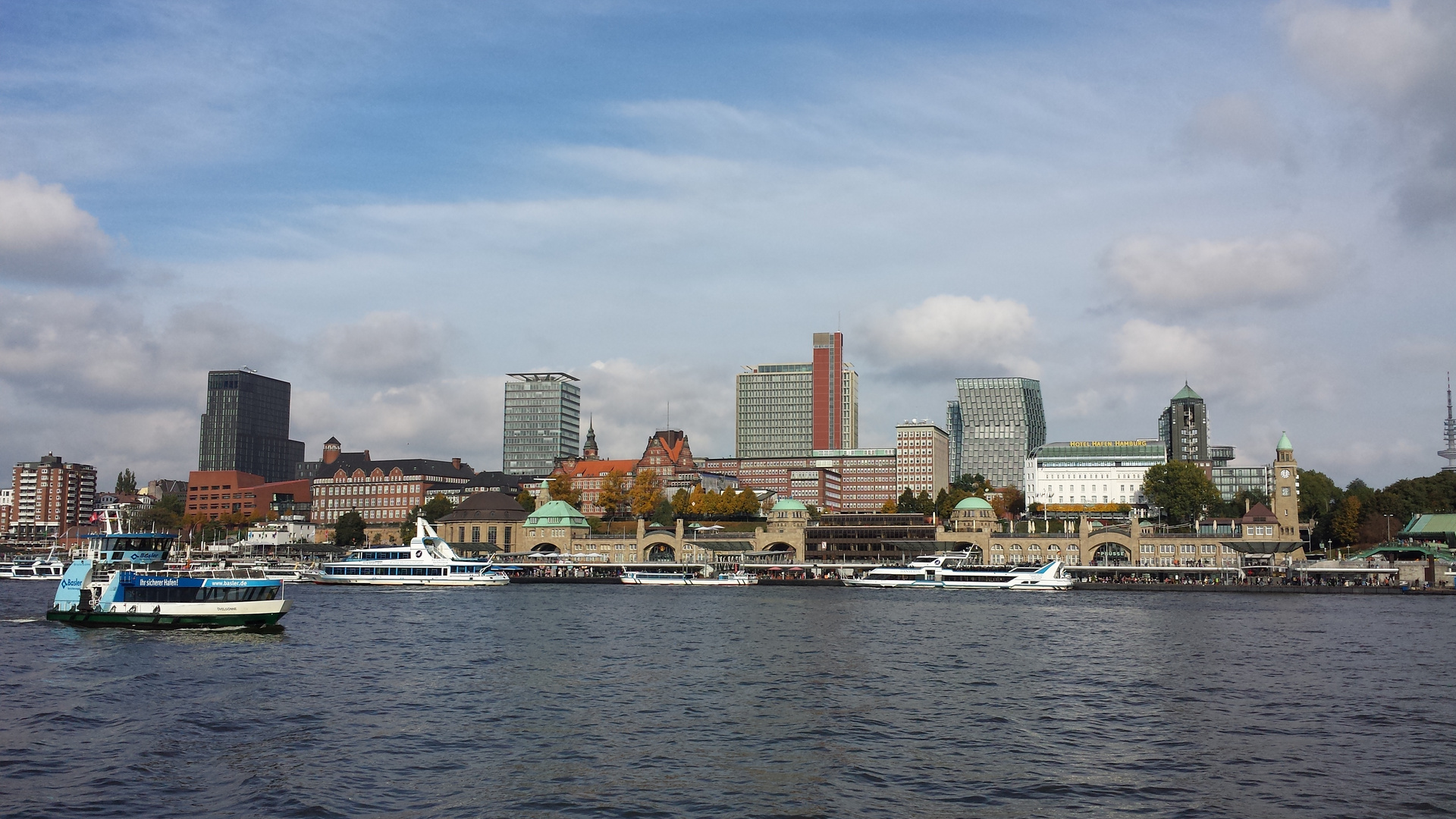 Bootstour durch den Hamburger Hafen