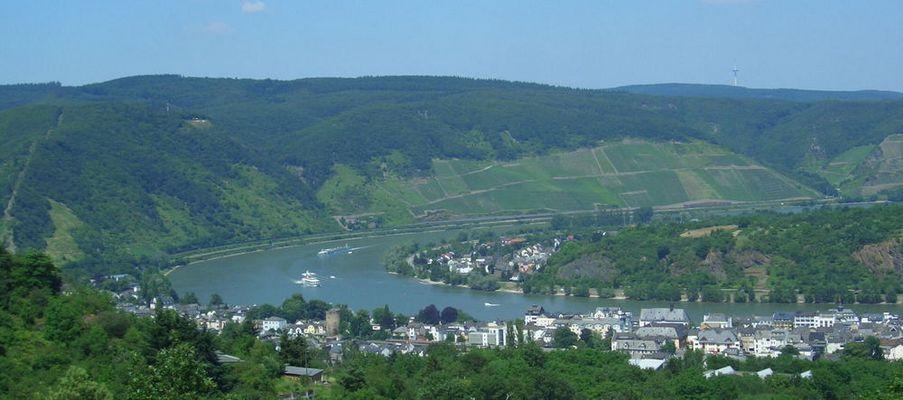 Boppard am Rhein Aussichtspunkt Cäcilienhöhe