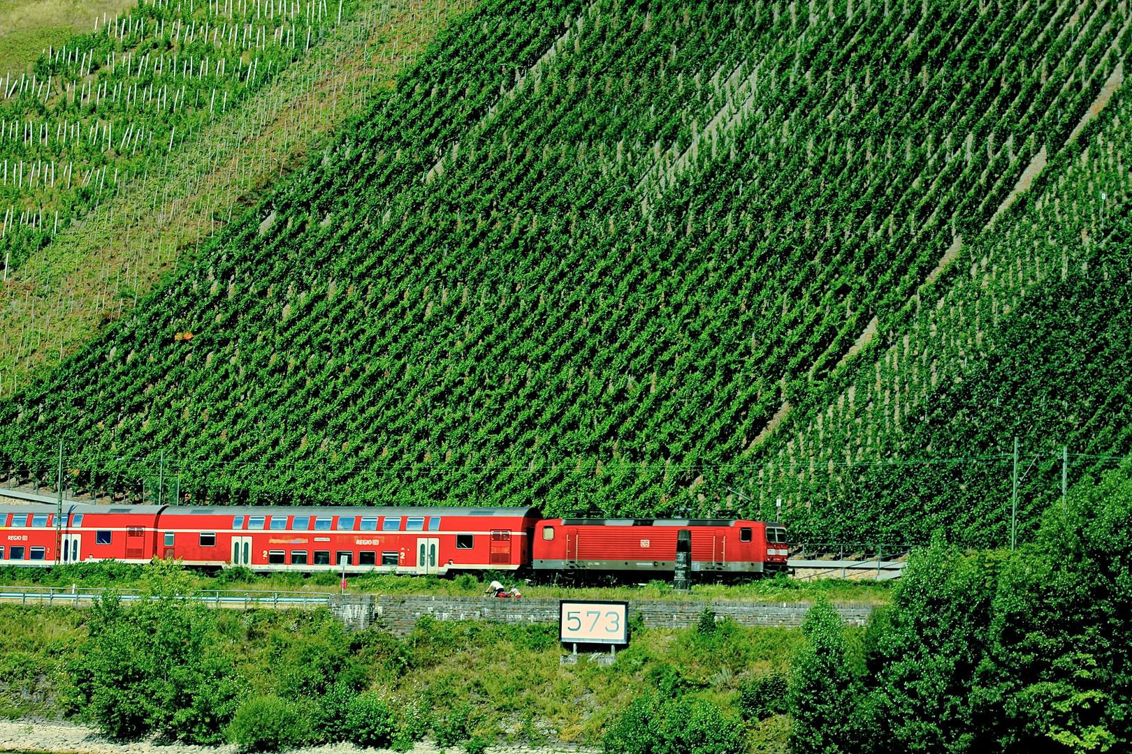 Boppard Rheinkilometer 573