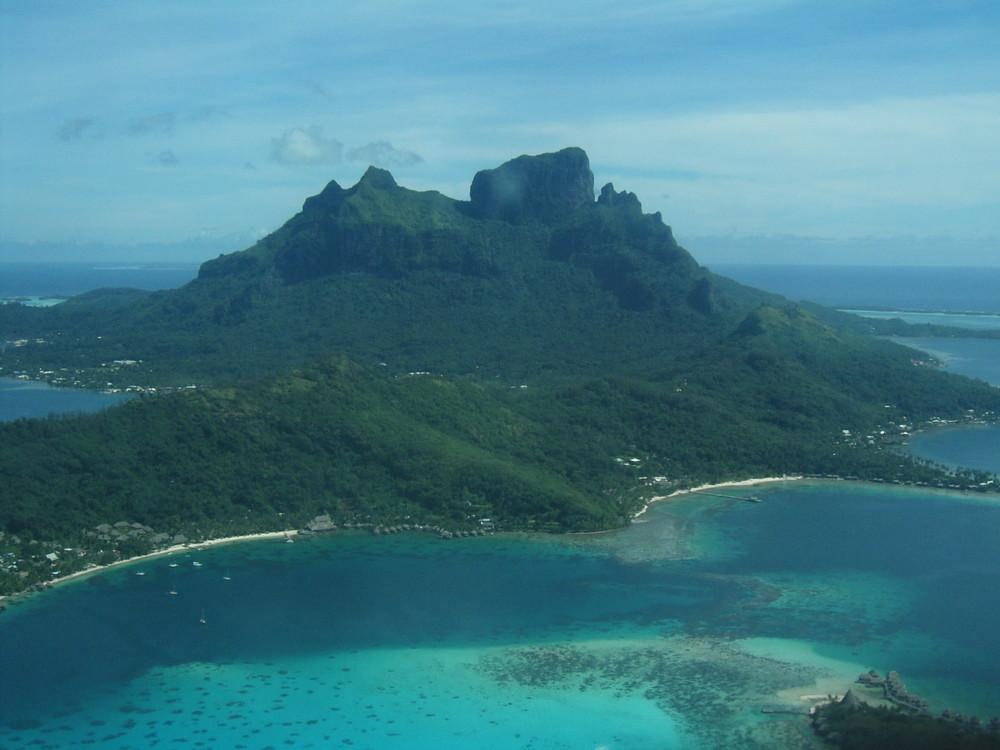 Bora Bora vue du ciel
