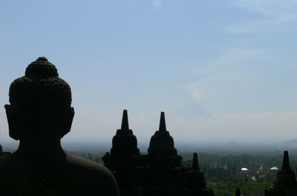 Borbodur Tempel auf Java (Indonesien)