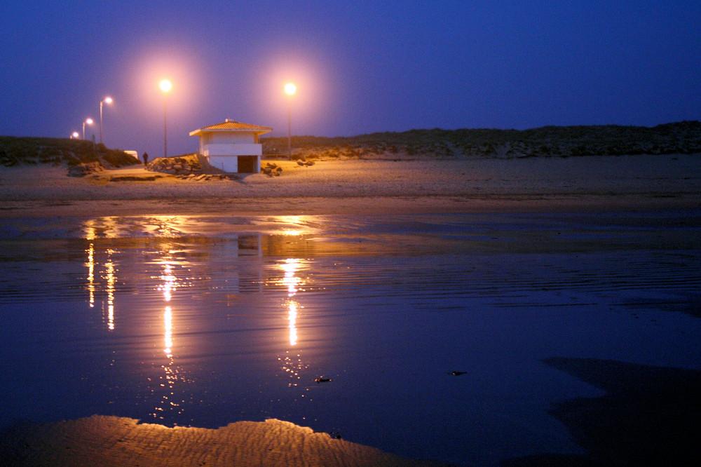 Bord de mer le soir
