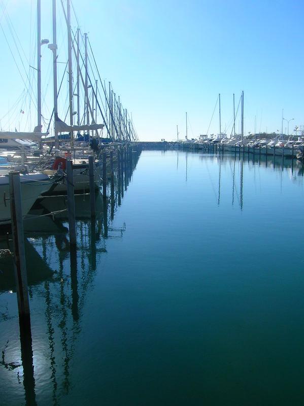 bord de port