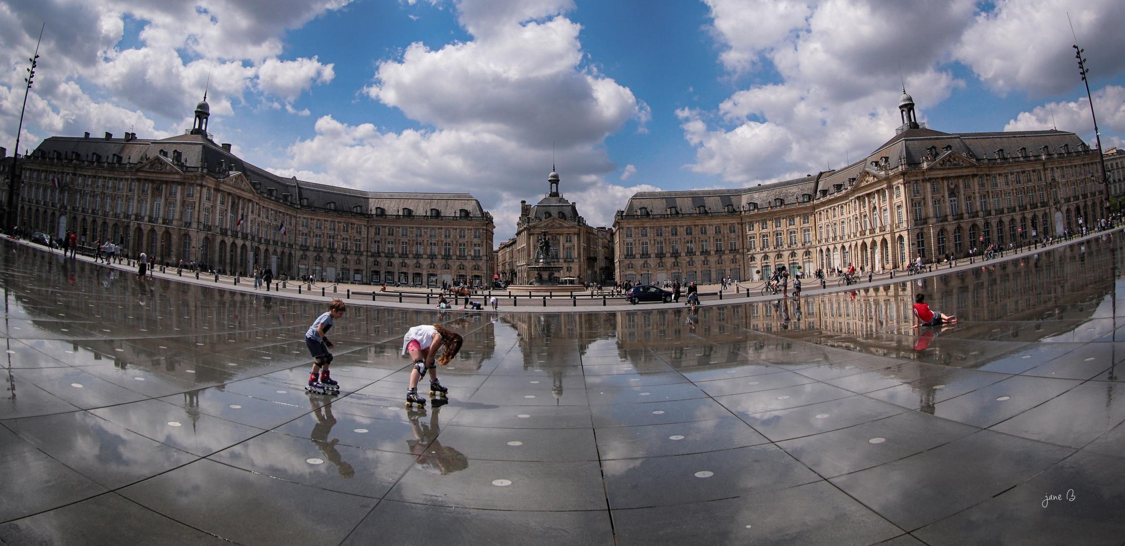Bordeaux et sa place magique