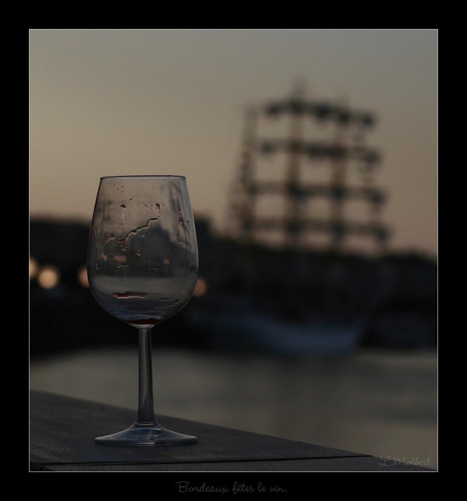 Bordeaux fêtes le vin.