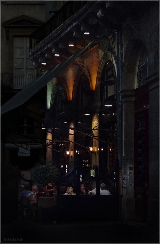 Bordeaux, mitten in der Nacht