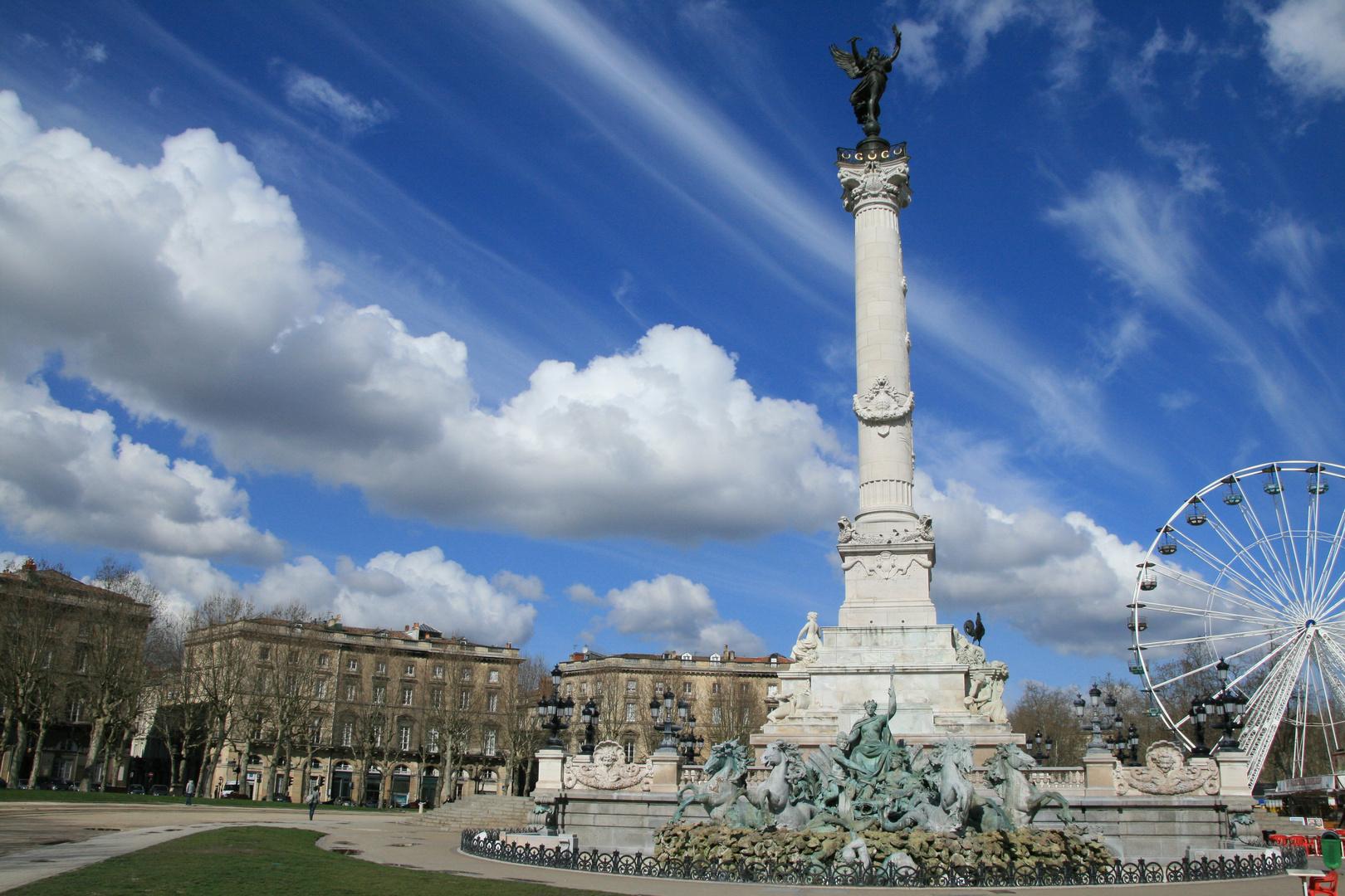 Bordeaux, quand ton ciel nous ensorcelle...
