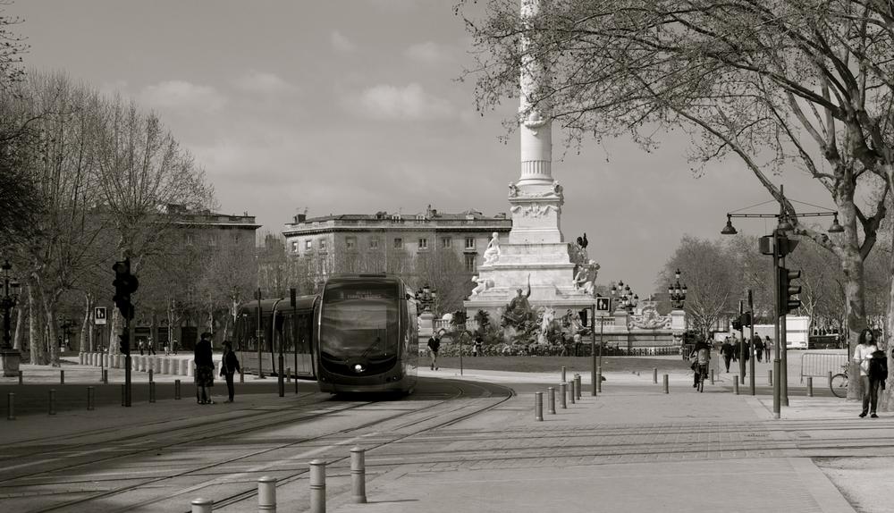 bordeaux , son tramway